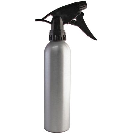 Spray bottle, metallic