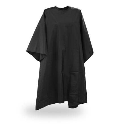 Wako Crinkle cape, black