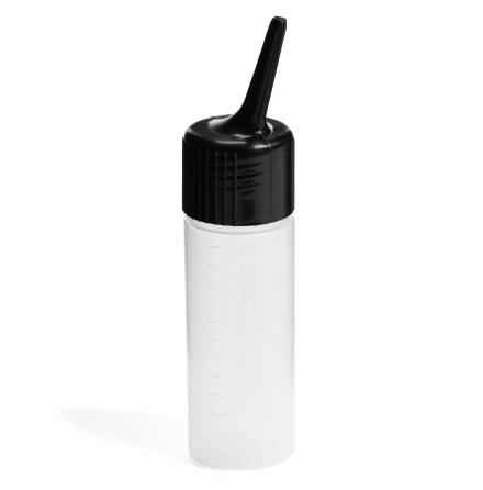 Application bottle, black 120 ml