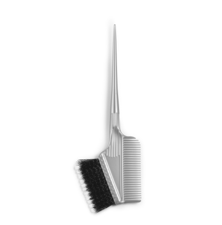 Dye brush soft&hard w comb