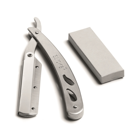 Shaving Knife Long, with 10 blades