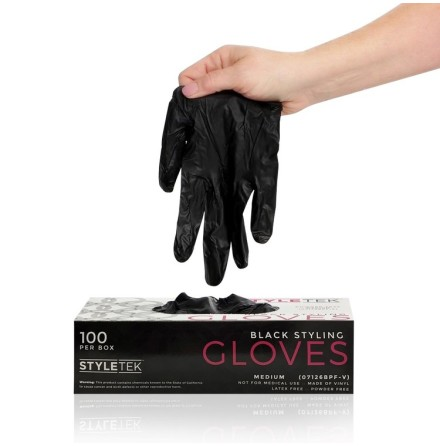 Deluxe Touch Coloring Gloves - Black