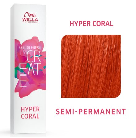 Wella Color Fresh Create Hyper Coral